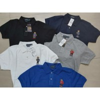 RALPH LAUREN MEN'S CUSTOM SLIM FIT BEAR POLO'S 2020