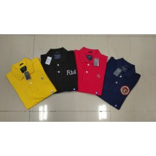 ABERCROMBIE AND FITCH MEN'S HALF SLEEVE POLO'S