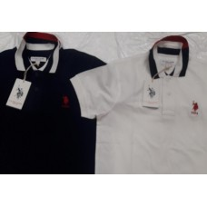 US POLO MEN'S HALF SLEEVE POLO'S