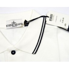 STONE ISLAND MEN'S HALF SLEEVE POLO'S